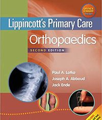 Lippincott's Primary Care Orthopaedics 2nd edition